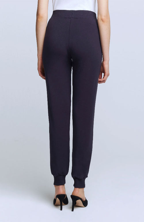 Moss High Rise Jogger Pant Midnight