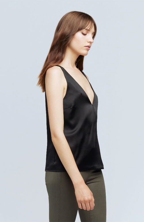 Willow Short Sleeve V Neck Tank