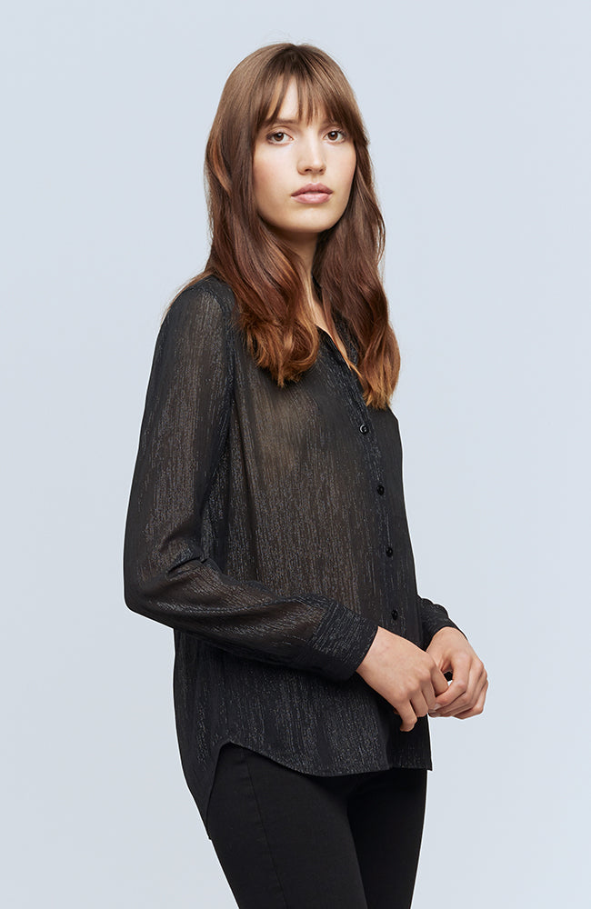 Florence Blouse in Black