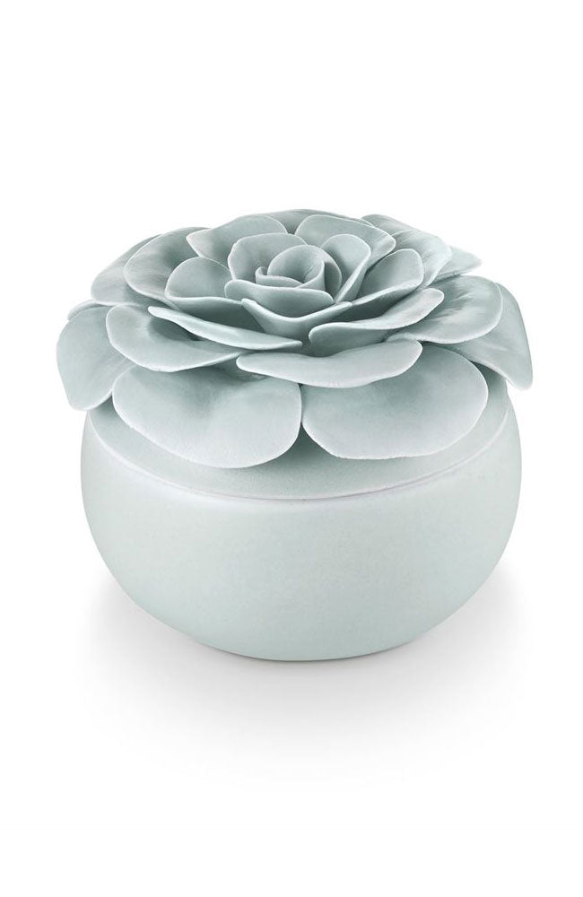 Fresh Sea Salt Ceramic Flower