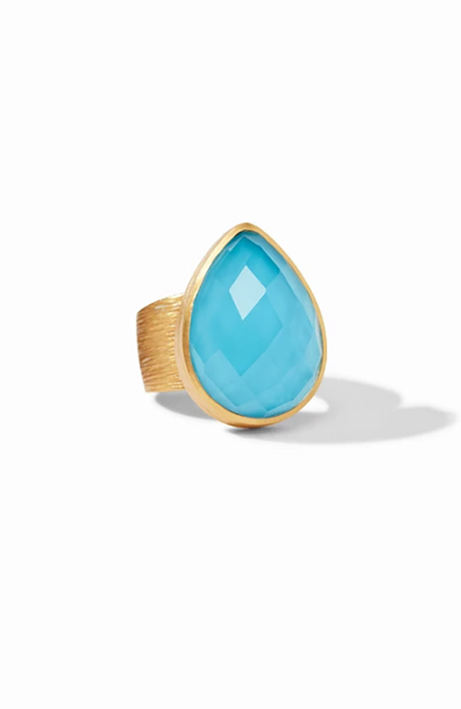 Aspen Statement Ring Pacific Blue Size 7