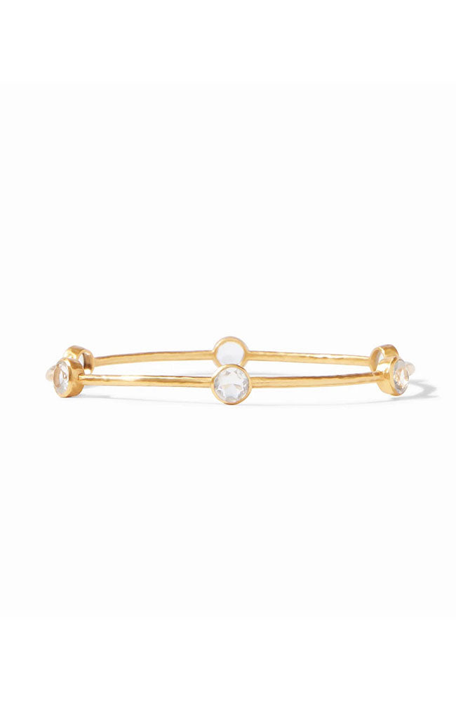 Clear Crystal Milano Bangle Medium
