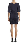Matte Jersey Ruched Dress