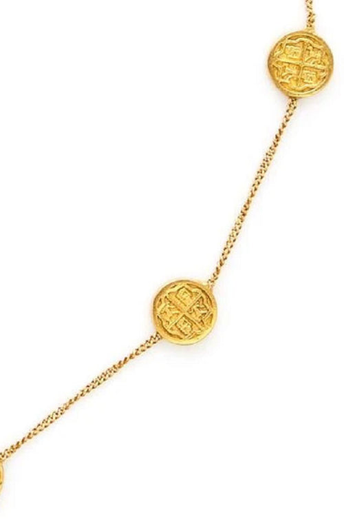 Valencia Delicate Station Necklace MOP