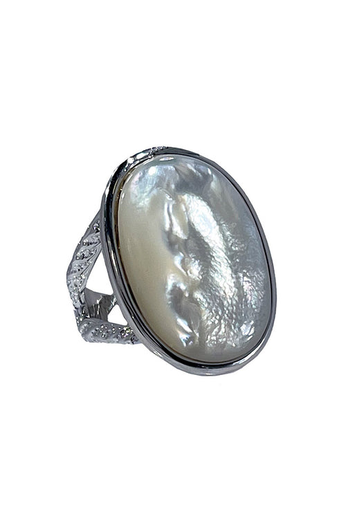 Mother Of Pearl Ring Size 7