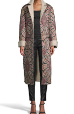 Labyrinth Bprinted Rev Coat