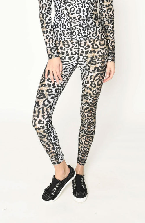 Leopard Sports Leggings