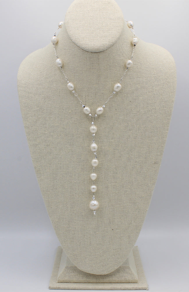Ivory Dionisia Pearl Necklace