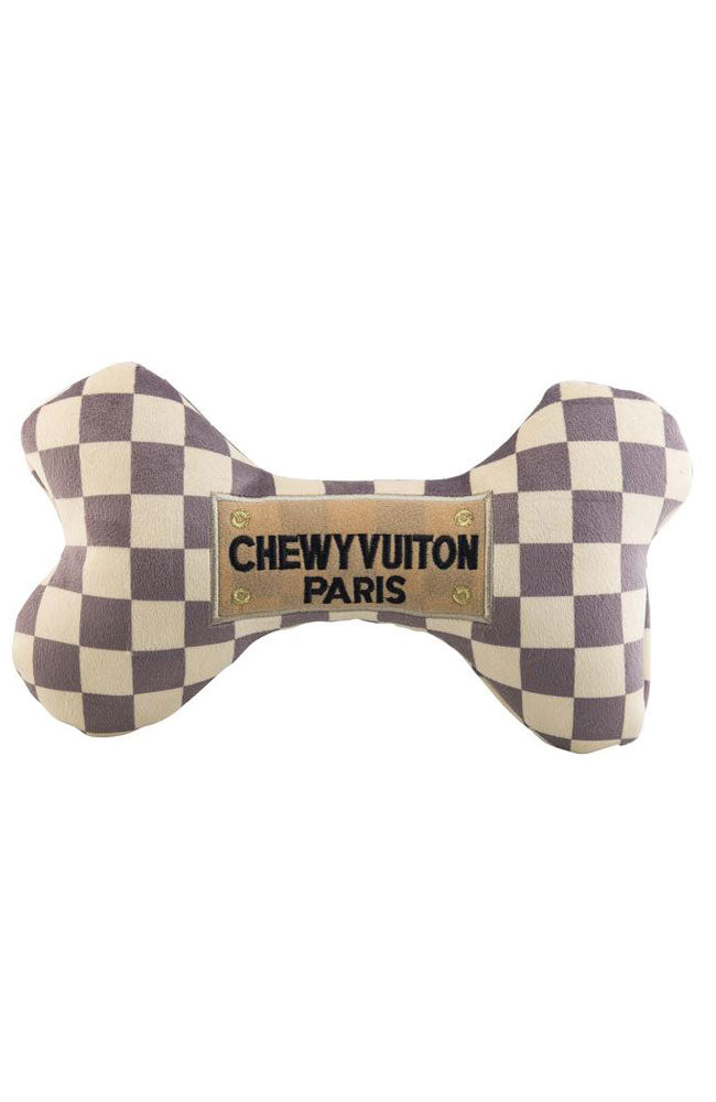 Chewy Vuiton Bone Toy Small