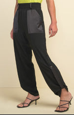Pull On Patch Pocket Pant in Black or Midnight