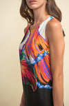 Watercolor Bodice Dress