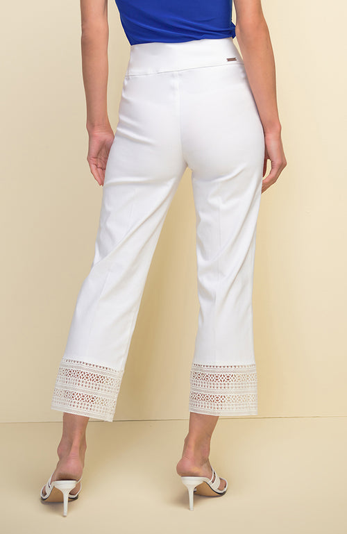 Full Leg Capri with Lace Hem