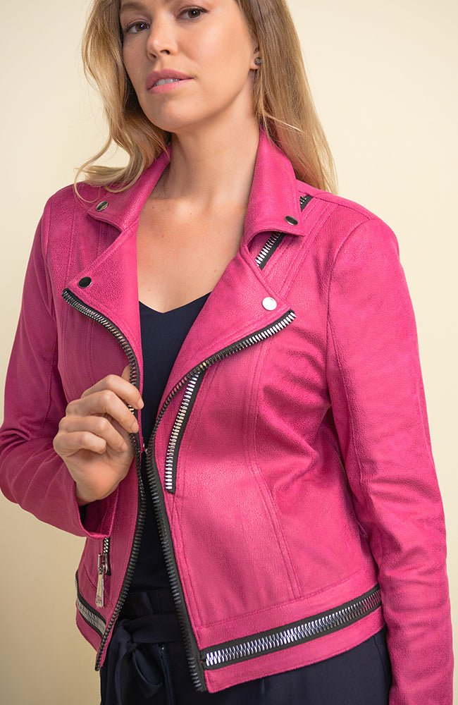 Bomber with Zipper Details