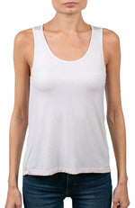 Soft Touch Metallic Relaxed Tank