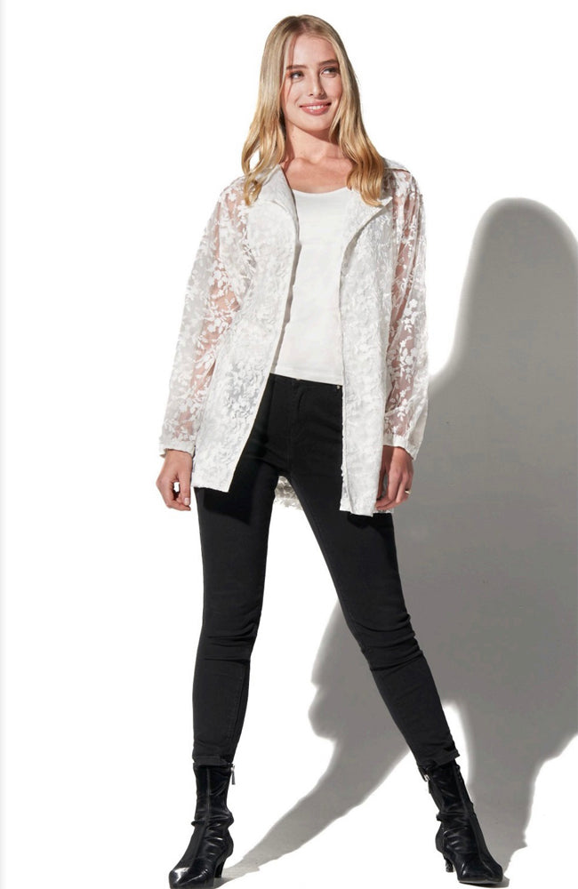 All Over Lace Anorak Jacket
