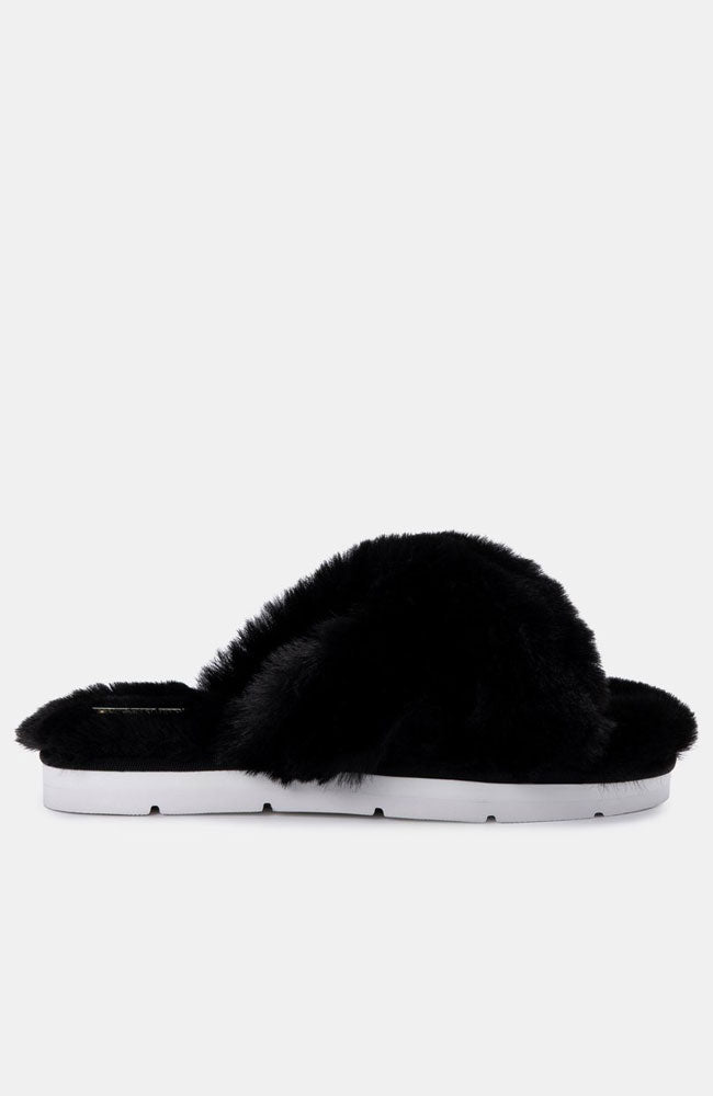Faux Fur Slide