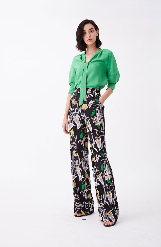 Federica Pants in Bali Flower