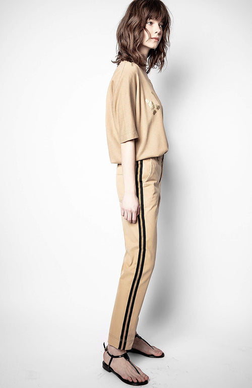 Pomelo Washed Cotton Pant