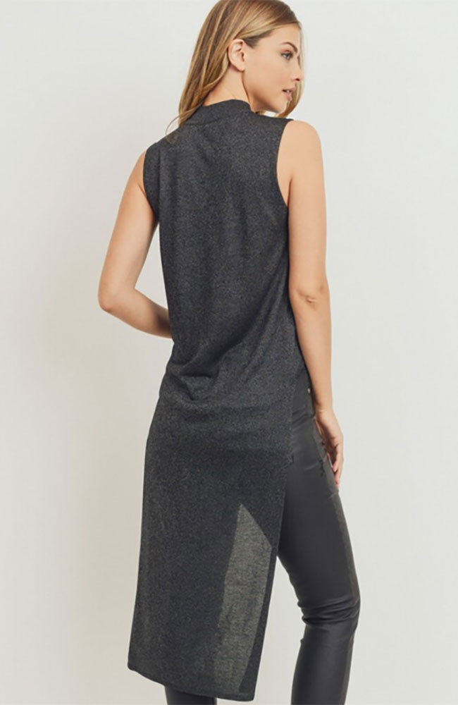 High Low Mock Tank Tunic