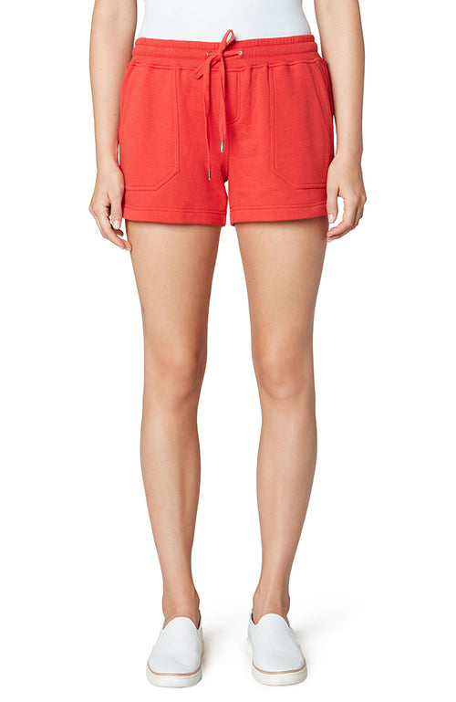 Pullon Knit Shorts with Pork Chop Pockets