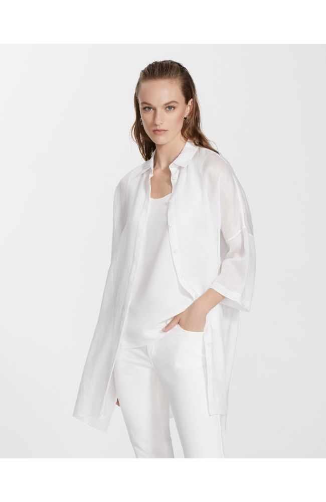 Saylor Blouse in White