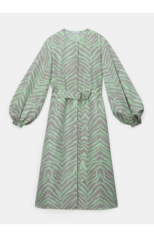 Louisa Dress Key Lime Multi