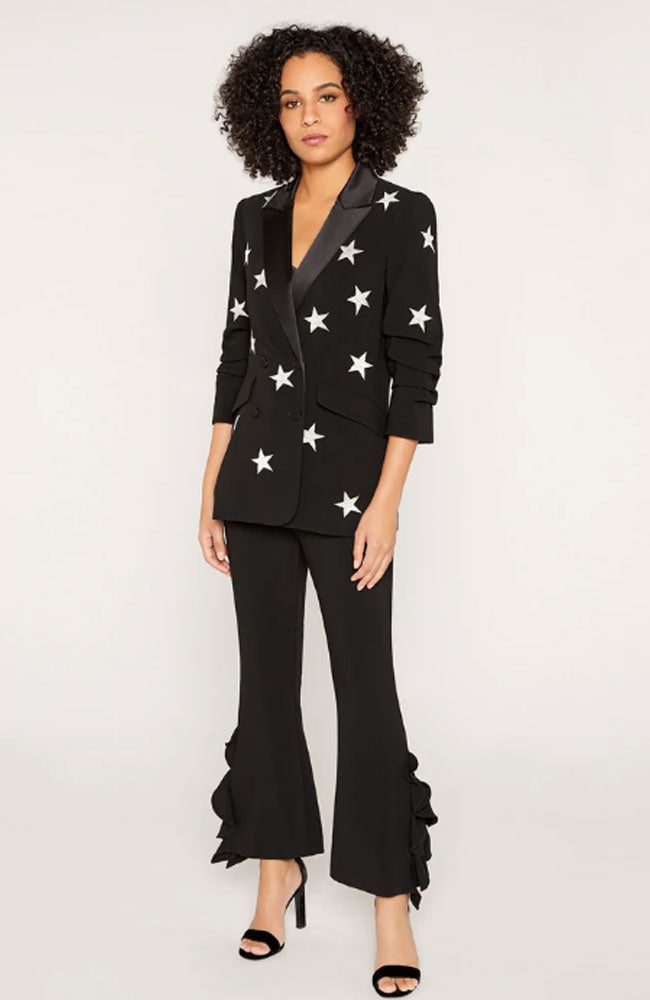 Mini Star Lila  Black Blazer