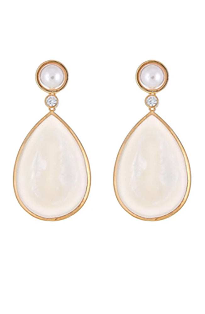 Pearl Drop Earring Mother of Pearl