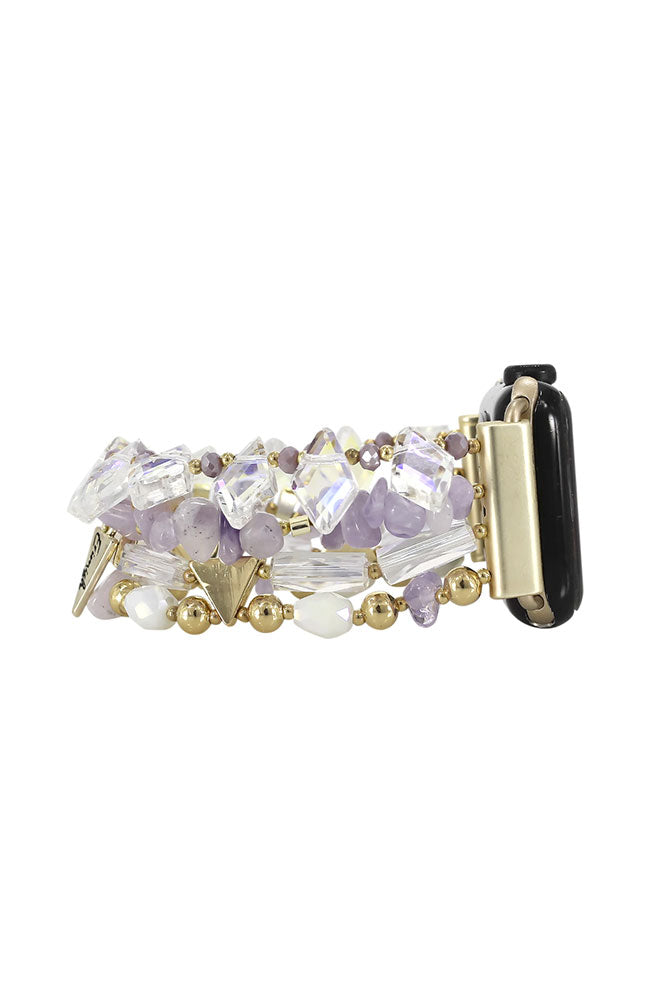 Butterfly Watch Lilac 14 cm