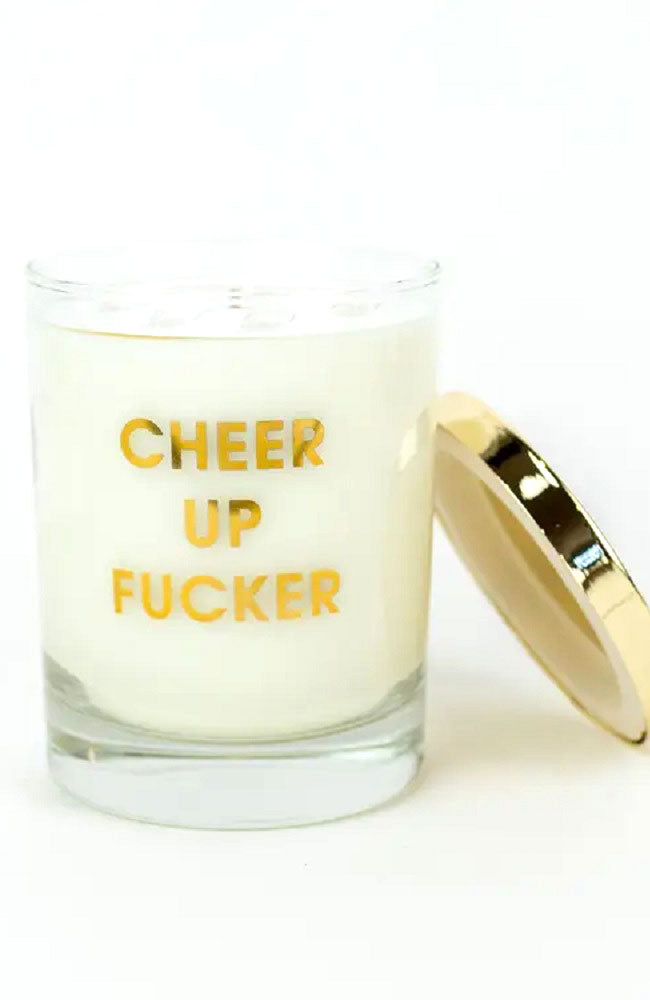Cheer Up E'ffer-Candle