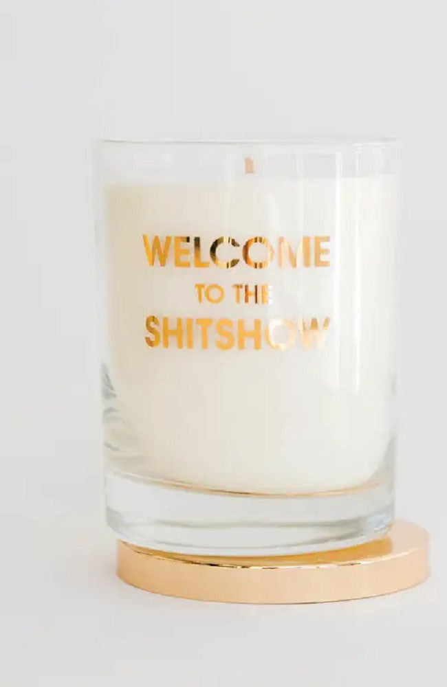 Welcome to the Sh-t Show Candle