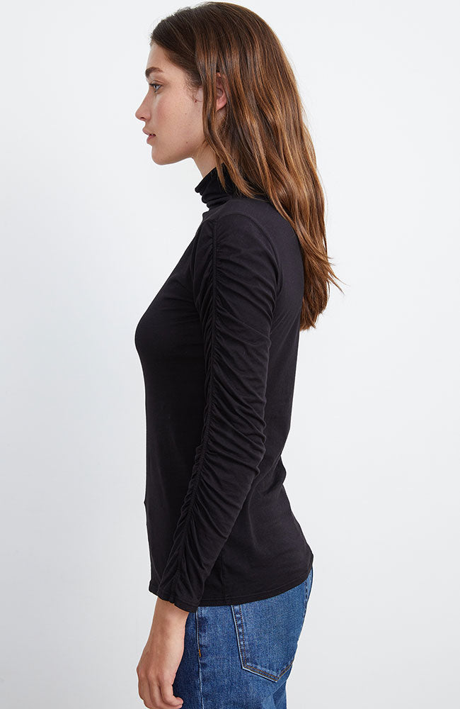 Lindsay Long Sleeve Knit Turtleneck