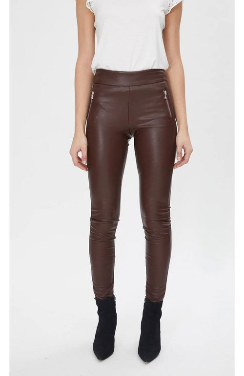 Levi Vegan Leather Leggings