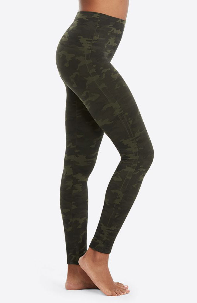 Look At Me Now Leggings in Green Camo