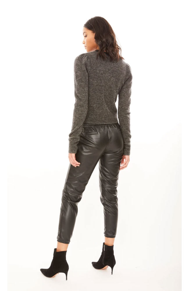Riley Vegan Leather Jogger