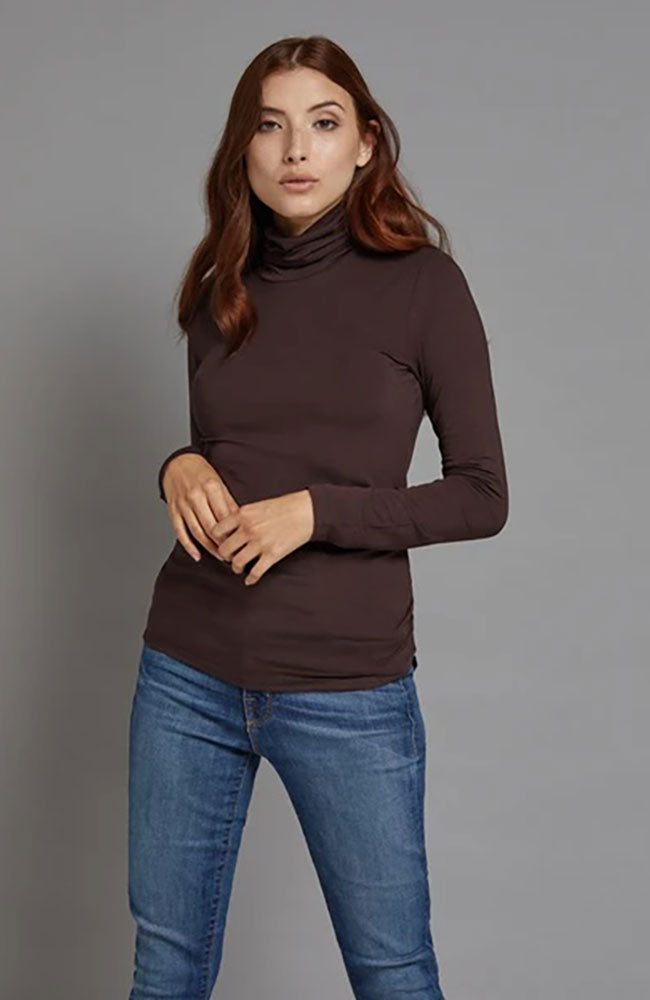 Soft Touch Long Sleeve Turtleneck