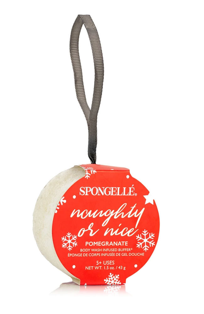 Naughty or Nice Holiday Ornament
