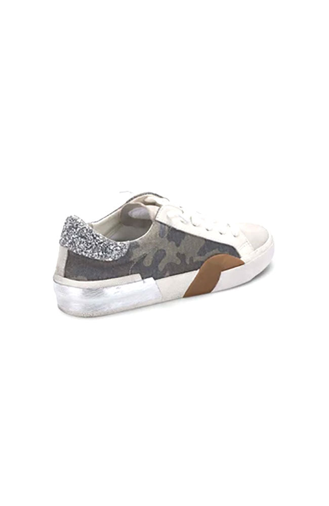 Zina Sneaker in Camo Canvas