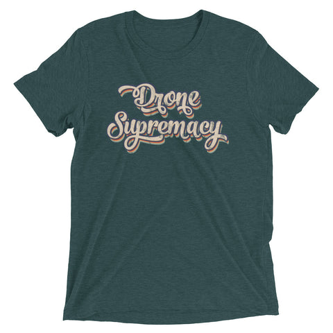 Drone Supremacy Distressed Logo T-shirt