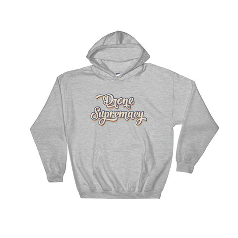 Drone Supremacy Distressed Hoodie
