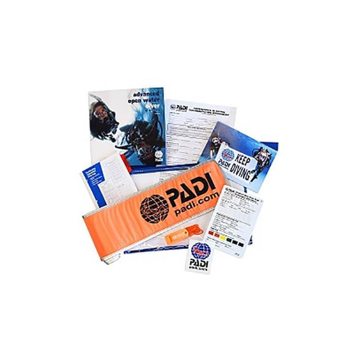 PADI Advanced Open Water Crew Pack with SMB and Whistle