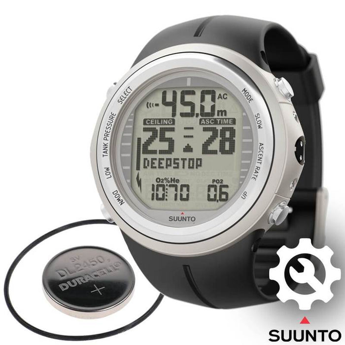 Suunto D9TX Dive Computer Battery Replacement