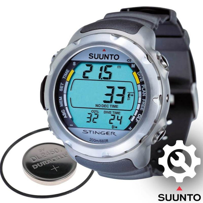 Suunto Stinger and Spyde Dive Computer Battery Replacement