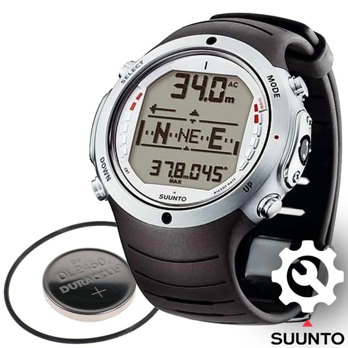 Suunto D6 Dive Computer Battery Replacement