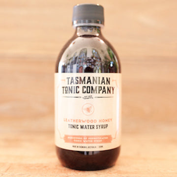 Tasmanian Tonic Company Leatherwood Tonic Water Syrup