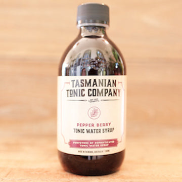 Tasmanian Tonic Company Pepper Berry Tonic Water Syrup