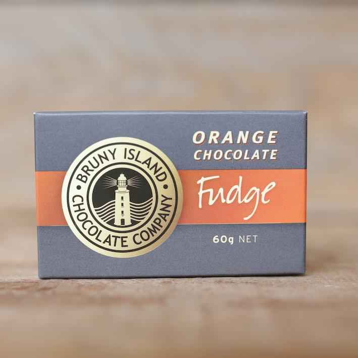 Bruny Island Chocolate Company Orange Fudge