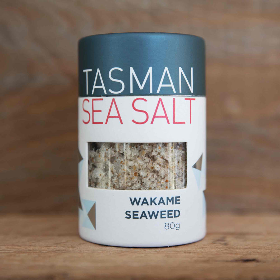 Tasman Sea Salt - Wakame Seaweed Sea Salt Flakes