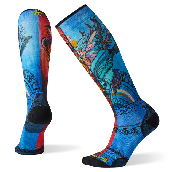 Smartwool Women's PhD Ski Ultra Light Print