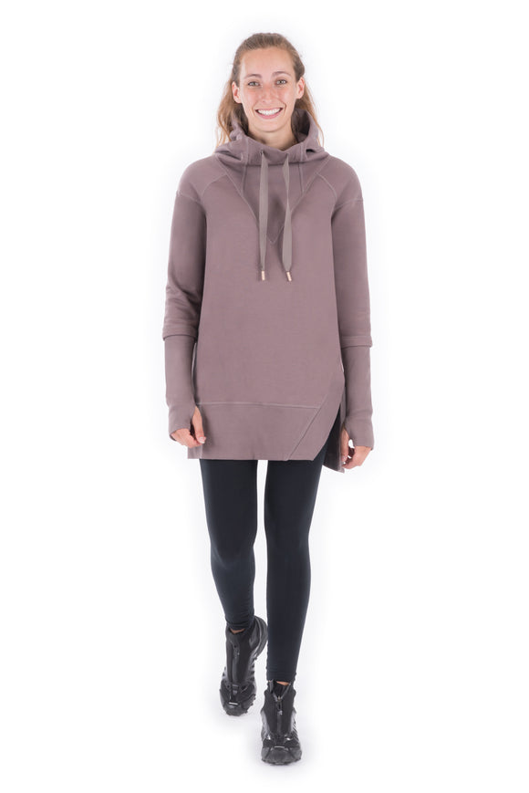 Indygena Timea French Terry Hoodie Dress
